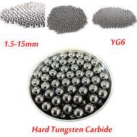 5x Tungsten Steel Ball Bearings Precision Beads Sintered Carbide Balls 1.5-15mm