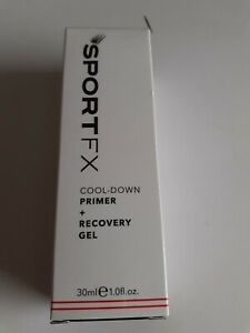 Primer + Recovery Gel - Cool-Down - by Sportfx - New Boxed 30ml
