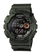 Casio g-shock reloj gd-100ms-3er digital verde oliva