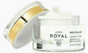 Jafra Royal Jelly Revitalize Longevity Creme 1.7 oz New & Sealed