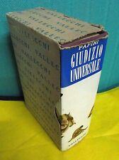 Papini GIUDIZIO UNIVERSALE - Vallecchi 1958