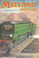 1946 NOVEMBER 33582  Meccano Magazine Cover Picture  TURNING HER ROUND