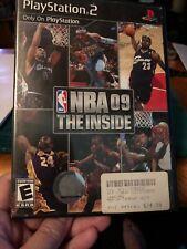 NBA 09: The Inside (Sony PlayStation 2, PS2)