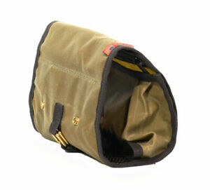 Frost River Roll Up Travel Kit Toiletry Bag Made in USA Duluth, MN Waxed Canvas