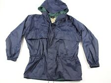 Vintage 90s LL Bean Mens XL Full Zip Outdoor Hiking Climbing Hooded Rain Jacket