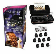 NEW Topstyler Instyler Heated Ceramic Styling Shells Hair Curlers + Case 30267