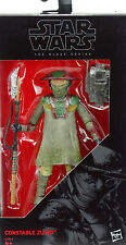 "STAR WARS THE BLACK SERIES COLLECTION CONSTABLE ZUVIO 6"" INCH FIGURE HASBRO #09"
