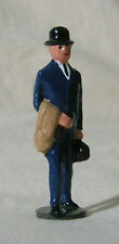 Edwardian Businessman in Bowler Hat, 1:32 train layout figure, Repro Johillco
