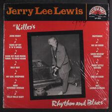 JERRY LEE LEWIS: Killer's Rhythm And Blues LP (UK, shrink) Oldies