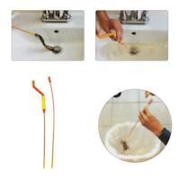 Ablassen Weasel Haarentfernung Anti Clog Werkzeug Twist Wand Waschbecken,-B K2Z8