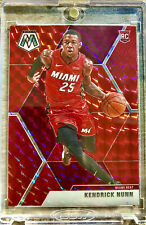 2019-20 Panini Mosaic Kendrick Nunn Prizm Red Rookie Card RC Miami Heat🔥📈