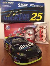 NASCAR Brian Vickers 1:24 Scale #25 2004 Monte Carlo GMAC Ditech MIB