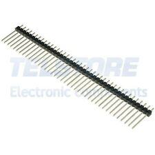 5 Connettore strip line 40 poli maschio L 12mm pin LUNGHI passo 2,54mm Arduino