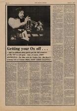 Who John Entwistle The Ox UK Interview 1975 XSWE
