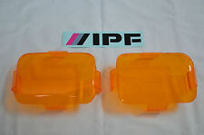 IPF 800/800XS RECTANGLE AMBER DRIVING LIGHT COVERS ***BRAND NEW***