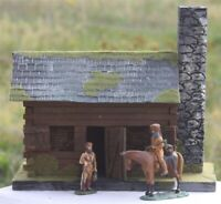 Old West 3058 Fort Duquesne kleines Blockhaus, Wild West, zu 7cm Sammelfiguren,