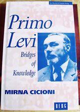 Rare Collectible Primo Levi New Directions European Writing Bridges Knowledge