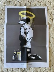 Banksy Forgive Us Our Trespassing Exit Through The Gift Store Original Poster