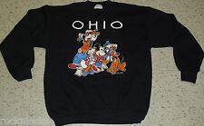 Vintage 90s Mickey Mouse Donald Pluto OHIO Crew Neck Sweatshirt Sz XL Disney NEW