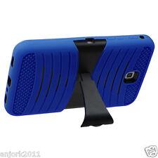 "Samsung Galaxy Tab 3 7"" P3200 T210 Hybrid H Armor Skin Cover w/Stand Blue/Black"