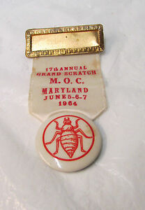 17th Annual GRAND SCRATCH M.O.C. ~ Maryland, June 5-6-7, 1964