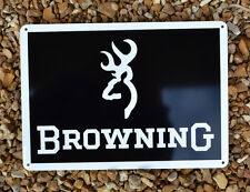 BROWNING FIRE ARM GUN SIGN 725 BUCK MARK1911 9MM ADVERTISING LOGO