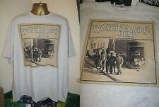 GRATEFUL DEAD- WORKINGMAN'S DEAD- 1970 ALBUM ART PRINT T SHIRT- GREY -X LARGE