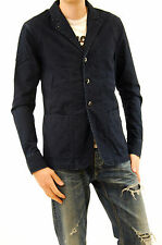 Denham Men's TUTOR Denim Blazer Button Up Pockets Indigo Size M BCF510
