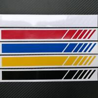 Racing Sports Graphics Aufkleber lange Streifen Auto Car BodyTailledecal