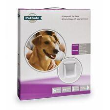 Staywell Original Pet Door Medium White 740 suitable for medium dogs