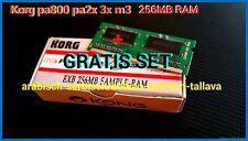 Korg 256 Mo RAM extension de stockage pa800 pa2x pa3x m3 Expansion Memory Keyboard