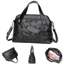 Leder Damen Tasche Shopper Handtasche Kreuzkörper Schultertasche Umhängetasche