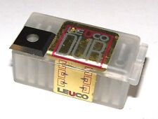 10St,Leuco Dur HM Wendeplatten, 12x12x1,5 Ø3,5mm Z4 NEU Qualität Made in Germany