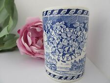 Mason's Blue and White Ironstone Mug or Tumbler Made for Crabtree and Evelyn