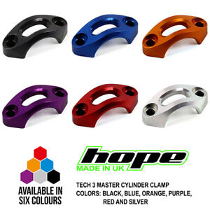 Hope Tech 3 Master Cylinder Clamps - All Colors - Brand New