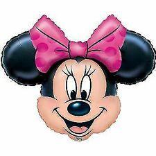 Shape Minnie Mouse Head 71cm X 58cm Foil Balloon