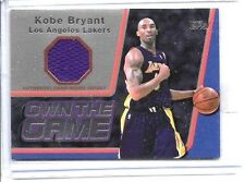 KOBE BRYANT 2006 TOPPS OWN THE GAME GAME WORN JERSEY
