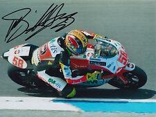 Marco SIMONCELLI Firmato a Mano Metis GILERA 250cc 8x6 PHOTO MotoGP.