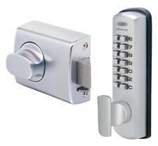 Lockwood 0021KDXSCDP Digital Door Lock Keyless DX Deadlatch 002 Timber Frame