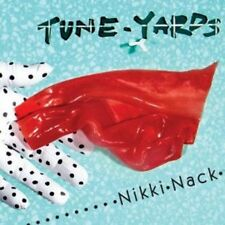 Tune-Yards ‎– Nikki Nack on Red Transparent Vinyl LP NEW