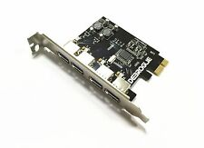 Super-Speed Mac Pro USB 3.0 PCI-E 4 Port Expansion Card For MAC OSX 10.8-10.12
