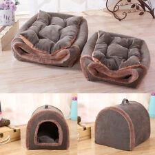 animal de compagnie chat chien cage lit Chiot Chaud doux Grotte Maison hiver