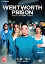Wentworth Prison Season 5 BOXSET DVD UK Region 2