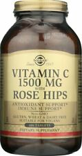 Solgar Vitamin C 1500mg with Rose Hips 180 Tablets
