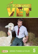 The Yorkshire Vet: Series 3 & 4 DVD (2018) Melanie Darlaston cert E 6 discs