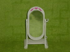 Fisher Price Loving Family Dollhouse White Flip Ballet Mirror #2 No Comb