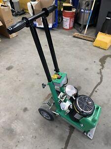"National 550  8"" Industrial 120V Manual Floor Scraper / Stripper Used Edco"