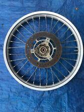 2000 00 Suzuki Rm80 Rm 80 Front Wheel Assembly Rim Hub Tire Spokes Rotor Hub