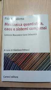 salasnich meccanica quantistica caos e sistemi complessi carocci