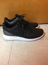 Nike Roshe Tiempo Vi Fc Black Leather Star Soccer Shoes 852613 002 Size 9.5